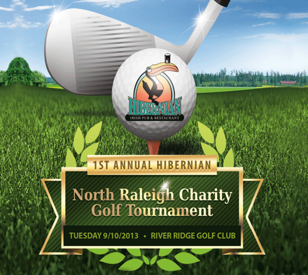Sign Up for our First North Raleigh Charity Golf Tournament